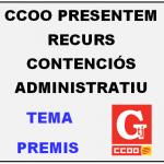 CCOO PRESENTEM RECURS CONTENCIÓS ADMINISTRATIU CONTRA LA DIPUTACIÓ DE BARCELONA