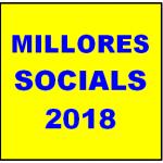 INFORMACIÓ IMPORTANT: MILLORES SOCIALS 2018