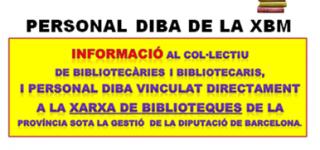 INFO PERSONAL XBM. NOVA REUNIÓ DE CCOO DIBA AMB EL VICEPRESIDENT 3er DE LA DIPUTACIÓ