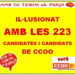 1 EESS CCOO PRESENTEM LA NOSTRA CANDIDATURA
