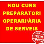 NOU CURS PREPARATORI OPOS PERSONAL OPERARI DE SERVEIS