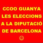 8 EESS CCOO GUANYA LES ELECCIONS SINDICALS DEL PERSONAL FUNCIONARI I LABORAL