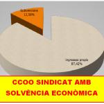 CCOO ÚNIC SINDICAT QUE LLIURA ELS SEUS COMPTES AUDITATS A LA SINDICATURA DE COMPTES