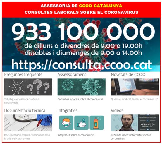 Assessoria CCOO Catalunya
